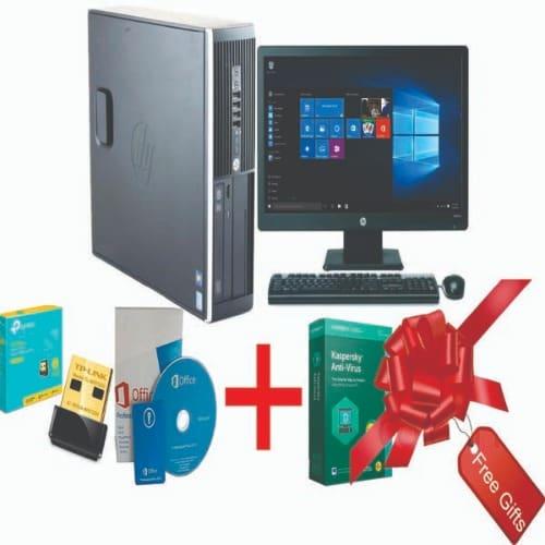 DC 6000 Sff - Dual Cores - 4GB RAM, 500GB HDD - Windows 10 Free Office 2013, Wifi Card & Antivirus