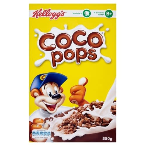Coco Pops Cereal 500g.