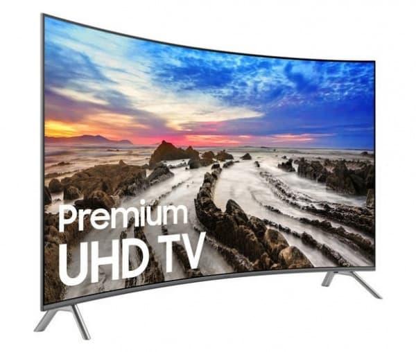 55-Inch UHD 4K Smart Curved TV - 55MU8500