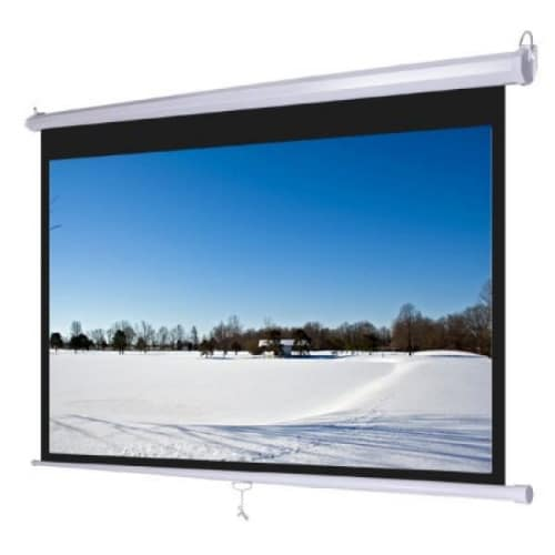 "Projector Screen - 96"" X 96"" Manual"