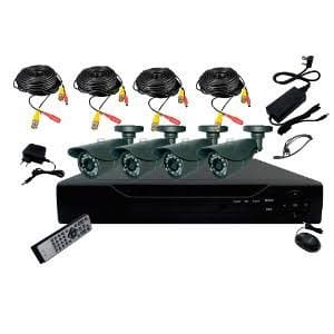 4 Channel Complete CCTV System