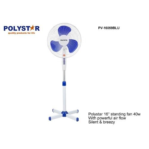 """16"""" Standing  Fan Pv-16059blu."""