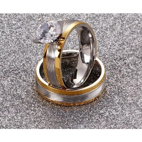 Italian Wedding Ring Set Konga Online Shopping