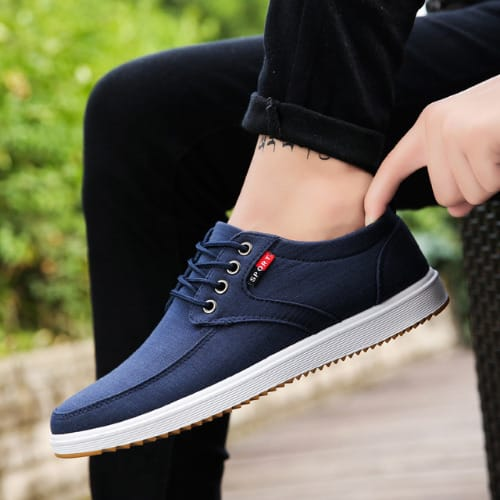 Breathable Men's Canvas Shoe