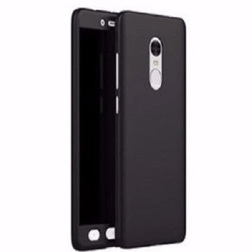 360 Protective Case For Tecno K7 Spark - Black