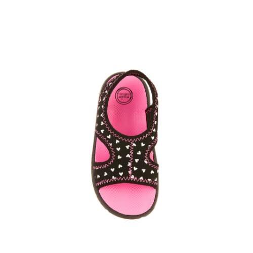 black sandals baby girl