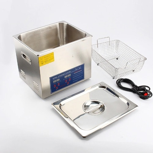 10L Digital Stainless Ultrasonic Cleaner, Bath Cleaner