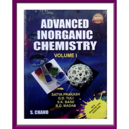 Advanced Inorganic Chemistry Book