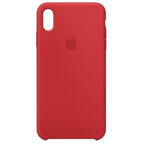 Silicone Back Case For iPhone Xr, Red