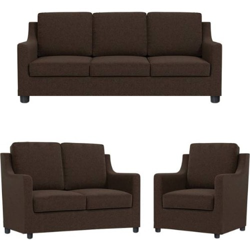 Harry 3 Piece Elegant Sofa Set Brown Konga Online Shopping