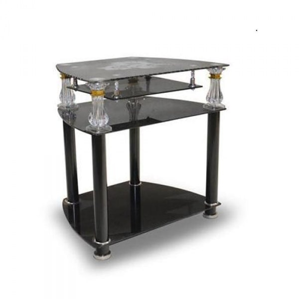 Tv And Home Theatre Tempered Glass, Glass Table Stand For Tv