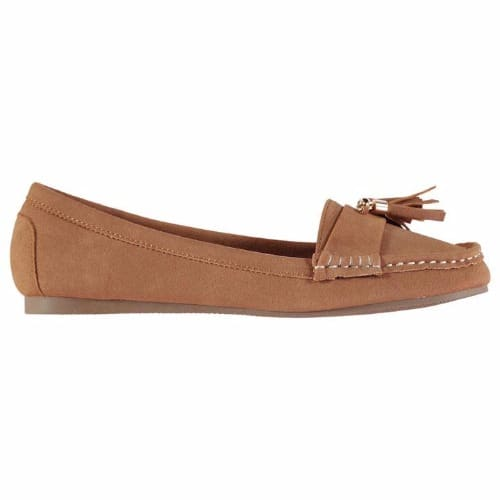 5a3aabf15a696 Tanya Tassel Moc Loafers - Brown