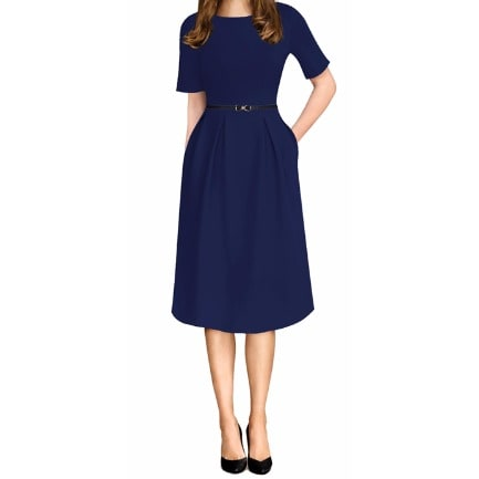/T/e/Textured-Belted-Skater-Dress--Blue-7921664.jpg