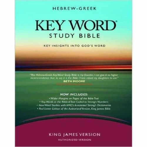 The Hebrew-Greek Key Word Study Bible: KJV Edition