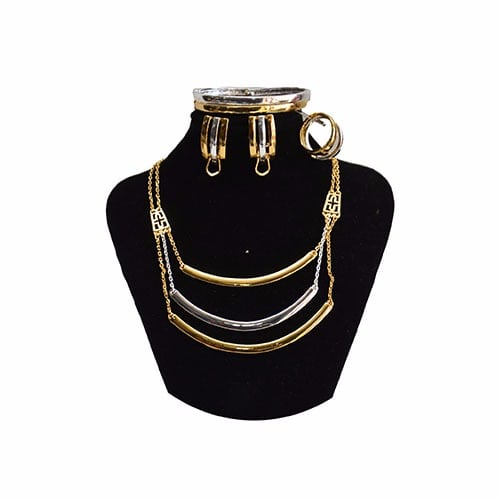 Perfect Choice Three Tone Multipurpose Jewelry Set
