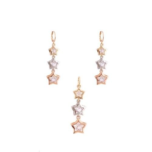 /T/h/Three-Tone-Star-Shaped-Earrings-Pendant---Silver-Gold-Rose-5598630_3.jpg