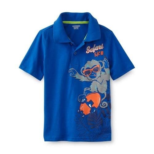 4feb87cb6 Toughskin Infant & Toddler Boy's Polo Shirt - Safari | Konga Online ...