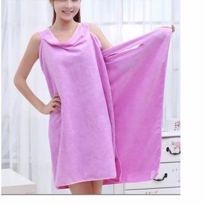 5dae310048 Towel Bathrobe - Purple