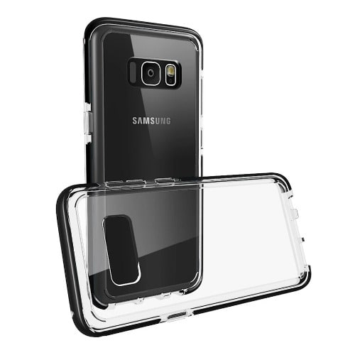 cheaper 9f4a8 8b693 Transparent Defender Case for Samsung S8 Plus