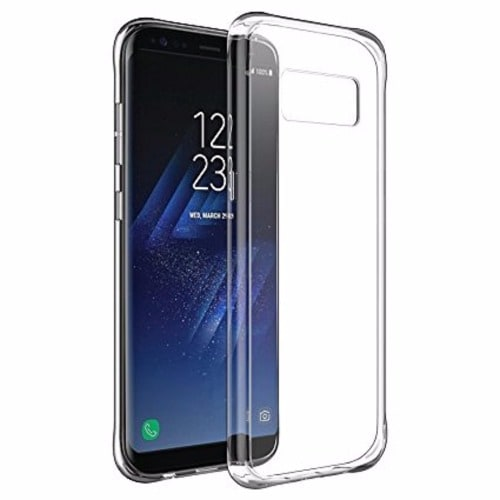 factory price ffaa9 df8e2 Transparent Hard Clear Case For Samsung Galaxy S8 Plus
