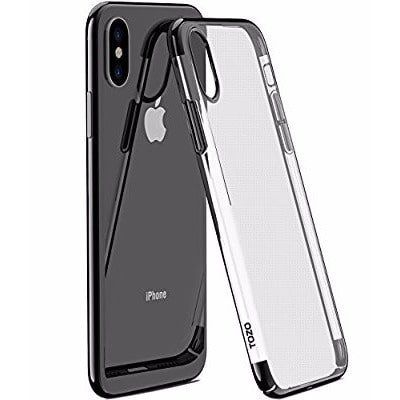 detailed look e85aa b3aec Transparent Protective Back Case For iPhone X