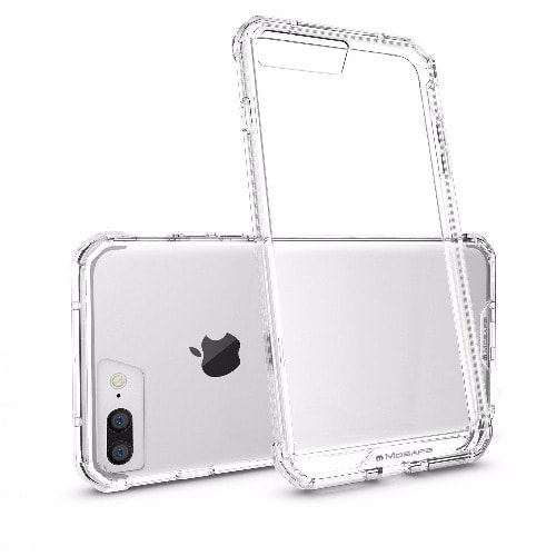 new product 02c22 87578 Transparent Silicone Gel Case For iPhone 7 Plus