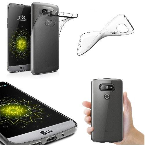 reputable site 737db 36e63 Transparent Silicone TPU Case For LG G5
