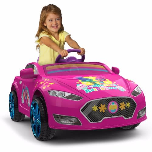 a3c14873648 Trolls 6V Speed Electric Battery-Powered Coupe Ride-On