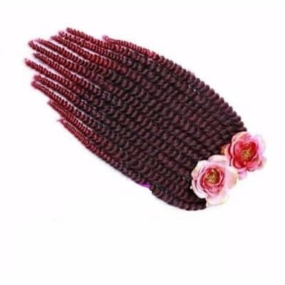 Twist Crochet Braids Black Burgundy Konga Online Shopping