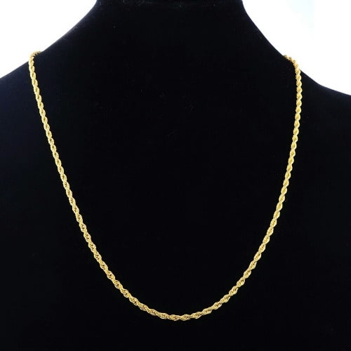 Gold Twisted Necklace