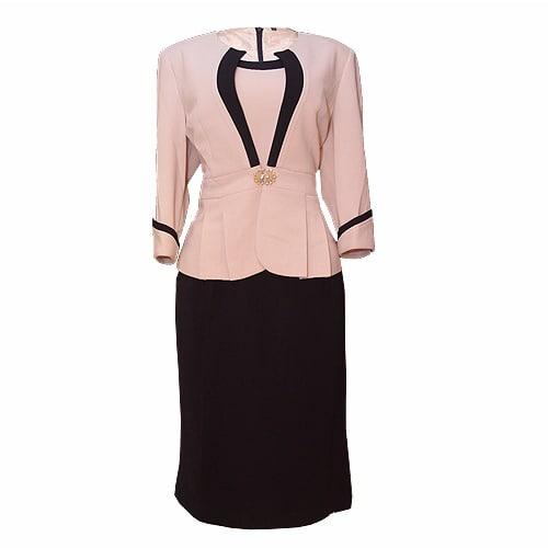 /T/w/Two-Piece-Dress-Suit---Navy-Blue-Beige-6893903_1.jpg