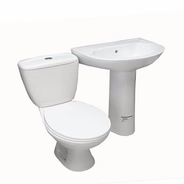 Awe Inspiring Twyford Toilet Seat Wash Hand Basin White Gmtry Best Dining Table And Chair Ideas Images Gmtryco