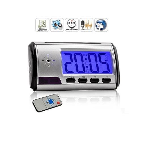 Mini Spy Camera Alarm Clock - DVR