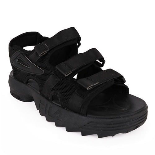 Men's Disruptor Platform Sandal - Black