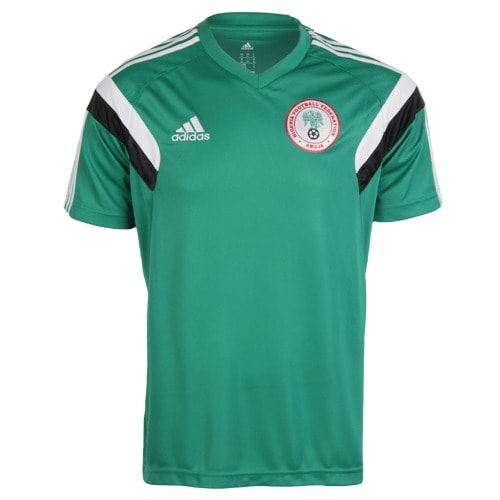 low priced 7b396 2f389 Men's 2014 World Cup Nigeria Lic Training Jersey