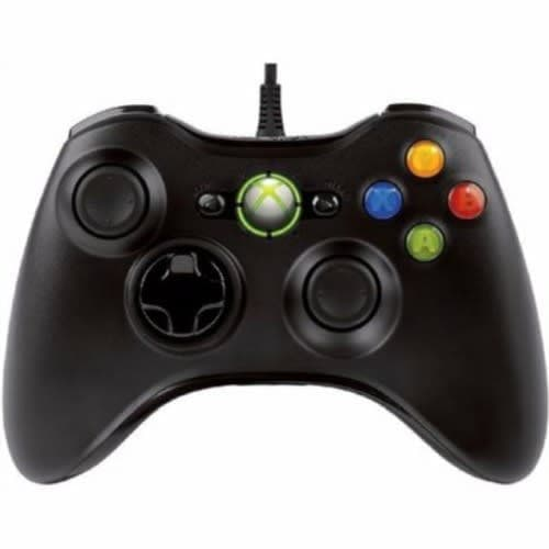 Microsoft Xbox 360 Wired Controller Pad - Black
