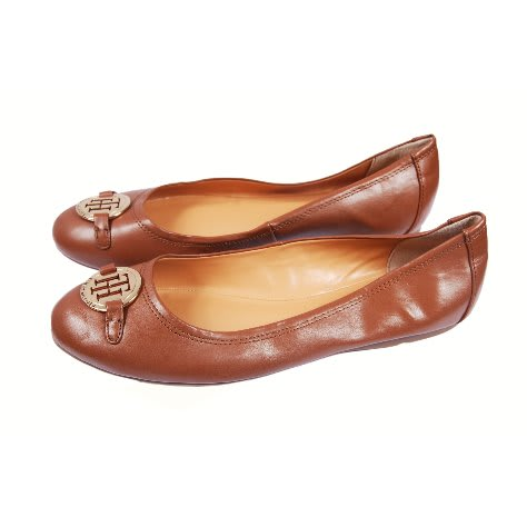 7f916968611380 Tommy Hilfiger Female Brown Flat Shoe