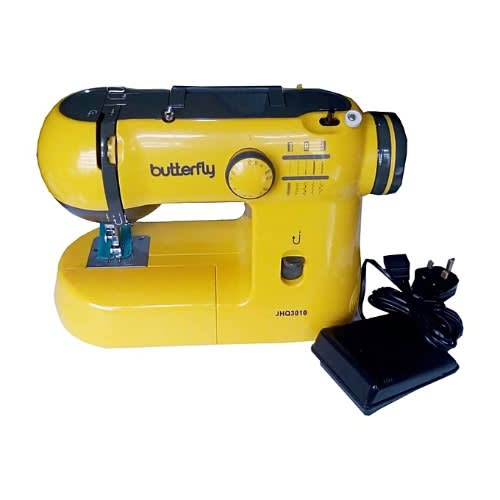 ee114d519e2 Butterfly Electric Portable Sewing Ma.