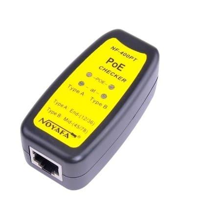 NF-400PT Advanced Ethernet Power Over Ethernet Tester
