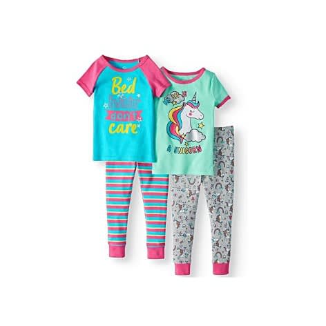 tolle Auswahl Discounter attraktive Farbe Unicorn Bff Girls Mix N' Match Snug Pyjamas Sleepwear