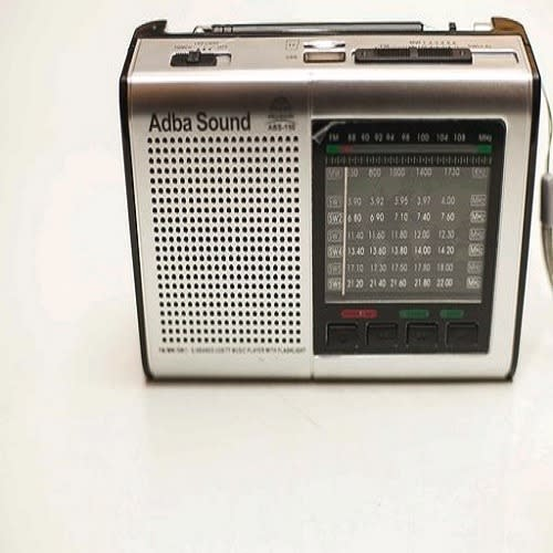Adba Sound Radio Fm/sw/mw 8 Band World Receiver