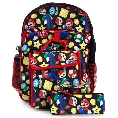5-piece Backpack Set