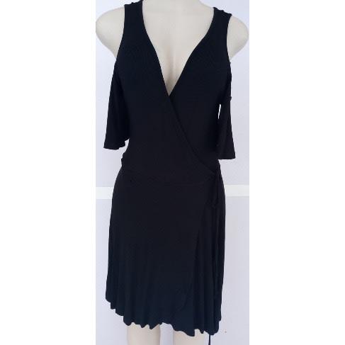 7b4a15789c3d2 Target Cold Shoulder Silk Dress - Black | Konga Online Shopping