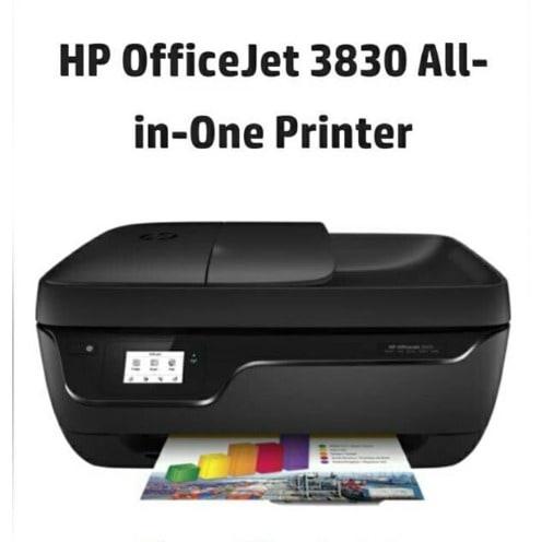 527d08c88 HP Officejet 3830 Copier, Scanner, Printer, Wireless, Fax- All-in ...
