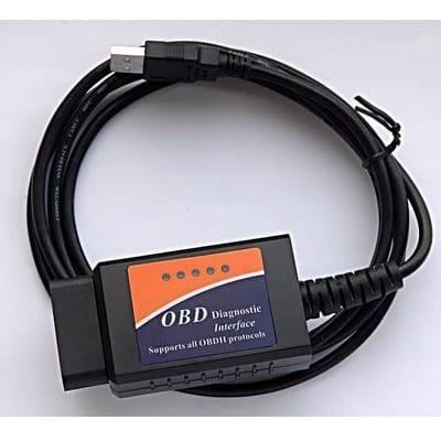 USB OBD2 Car Diagnostic Scanner - ELM 327