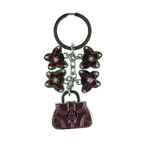 Fashion Key Holder - Marron