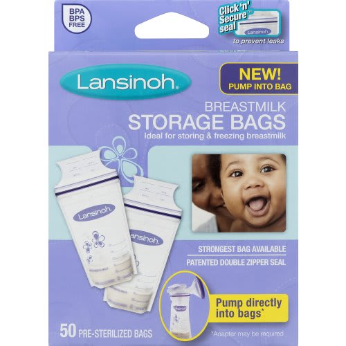 Breastmilk Storage Bags - 50 Count