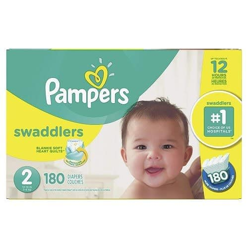 Swaddlers Diapers - Size 2 - 180counts