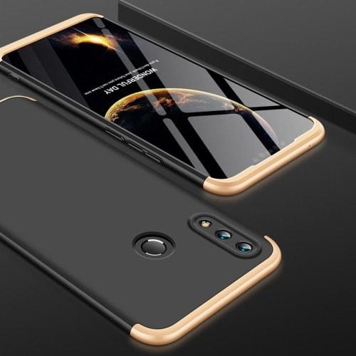 on sale fc298 4ecb2 360 Degrees Splicing Full Coverage Back Case For Huawei Nova 3i - Gold