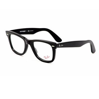 a77dc072595d Ray Ban Unisex RX 5121 Original Wayfarer Shiny Black Optical ...